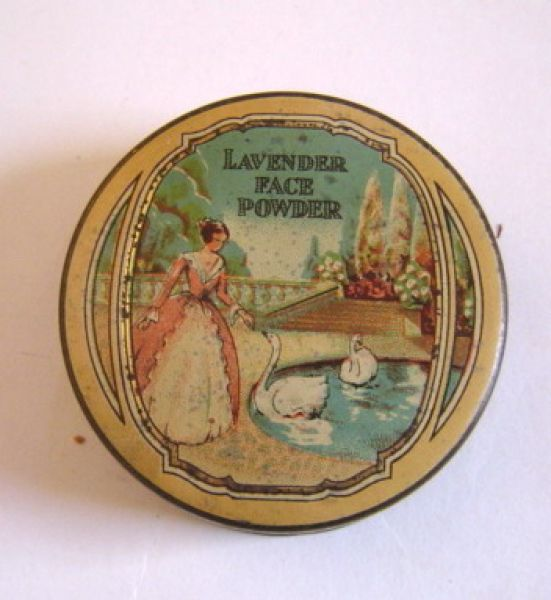 Simpsons - Face Powder Tin