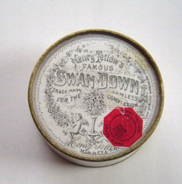 H Tetlow Swan Down Face Powder