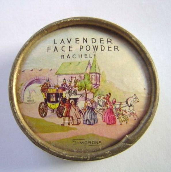 Simpsons - Lavender Face Powder