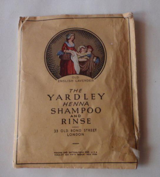 Yardley - Henna Shampoo and Rinse