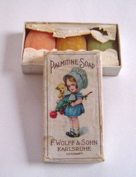 F Wolff and Sohn - Palmitine Soap