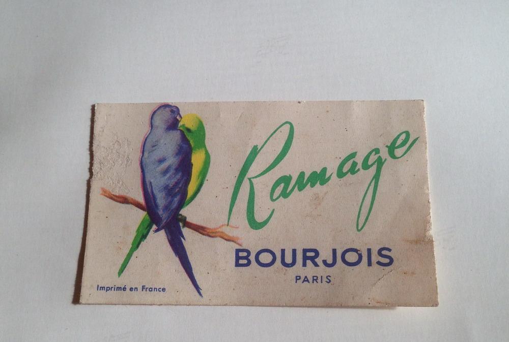 Bourjois - Ramage Perfume Card