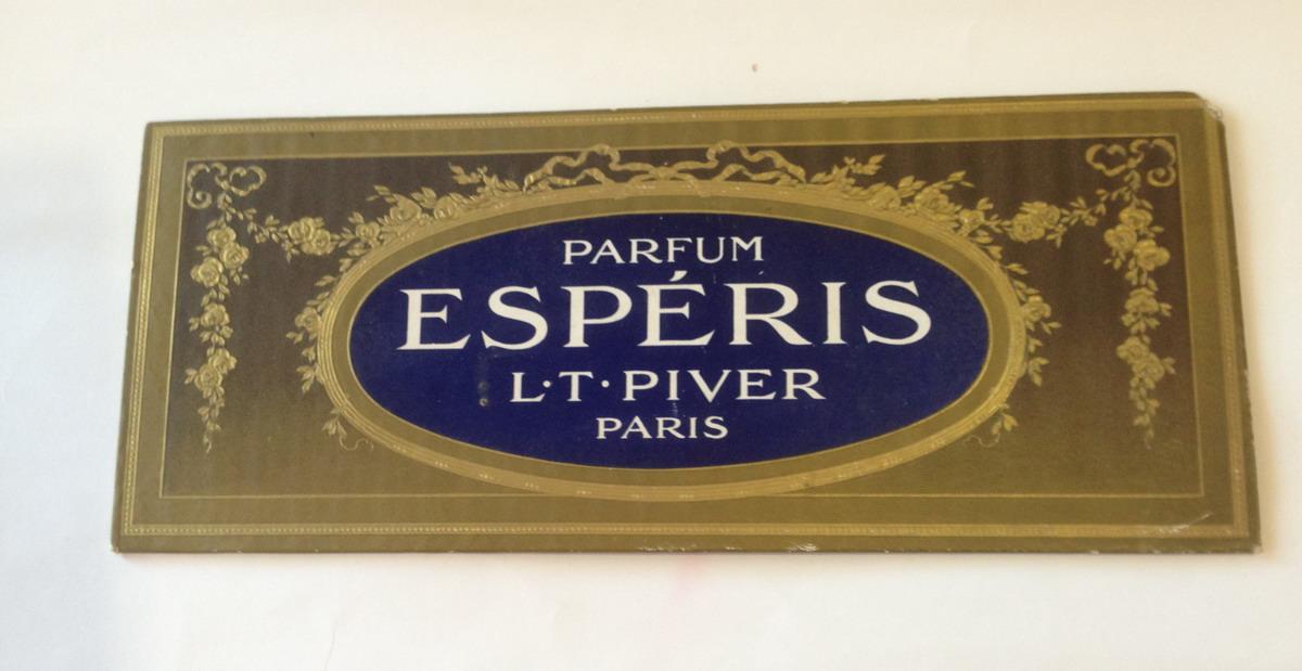 L T Piver - Esperis Counter Sign