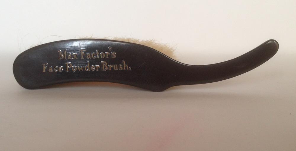 Max Factor Face Powder Brush