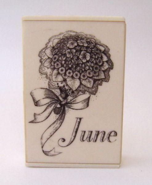 Saville June - bakelite perfume box
