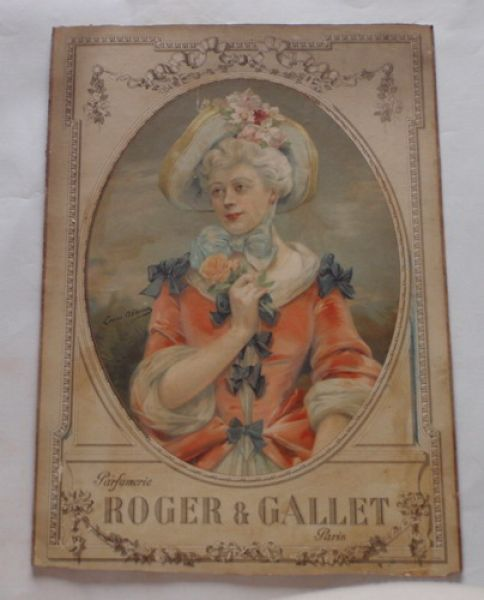 Roger and Gallet - Shop display poster