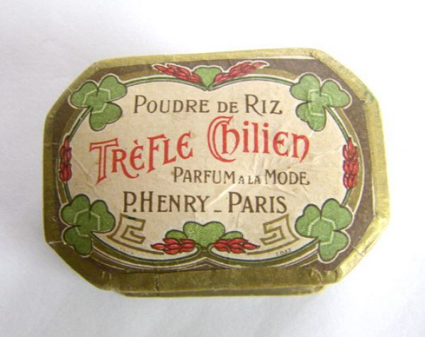 P. Henry Paris Powder Box
