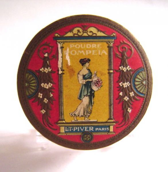 L T Piver - Pompeia Face Powder round