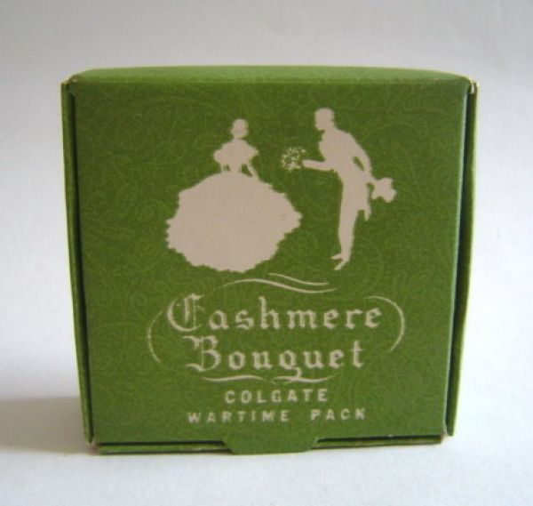 Colgate & Co - Cashmere Bouquet - Face Powder Wartime Pack
