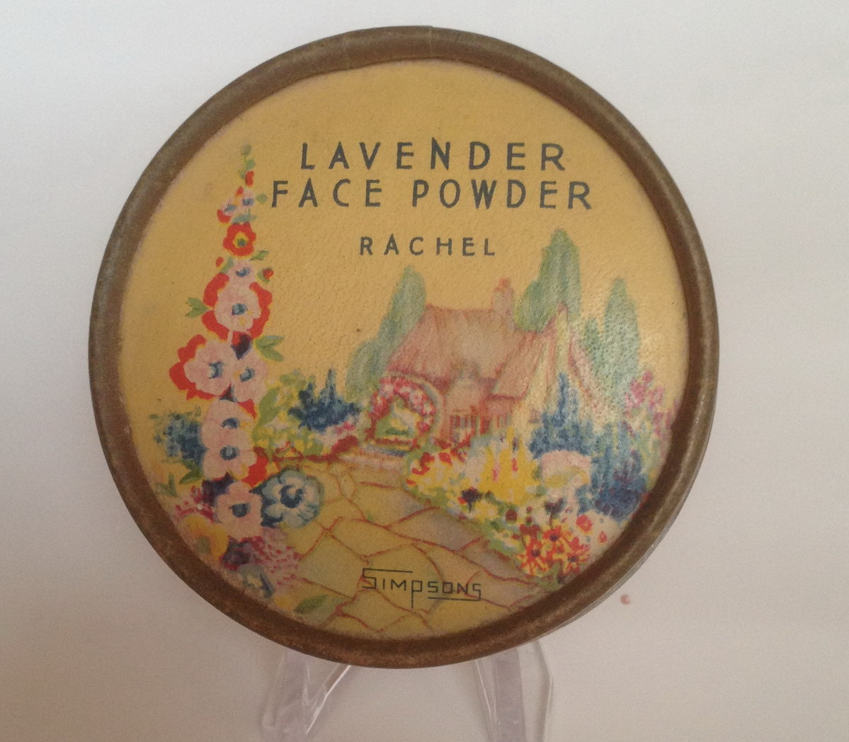 Simpsons - Lavender Face Powder - Rachel