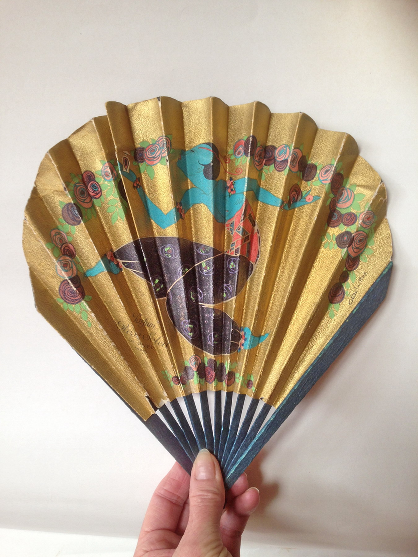 L T Piver - Art Deco Fan
