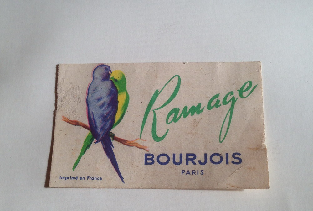 Bourjois - Ramage Perfume Card