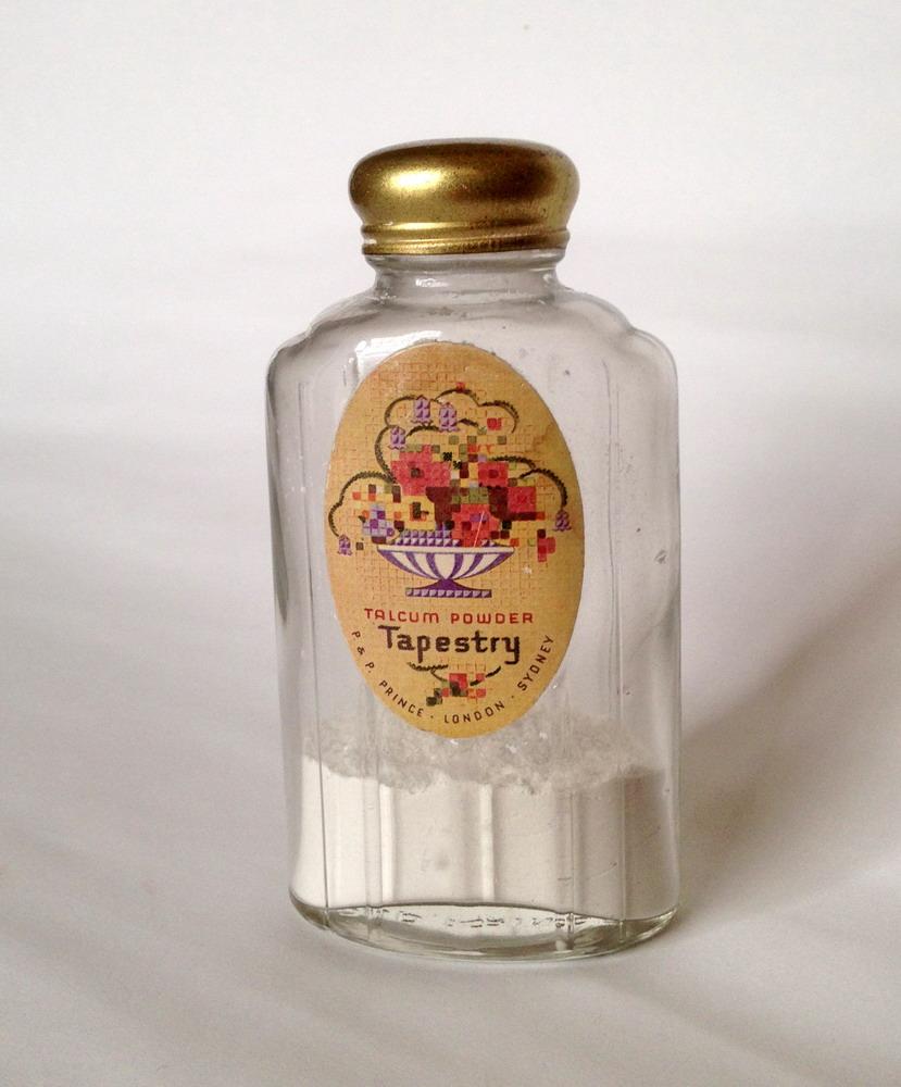P & P Prince - Tapestry Talcum Powder