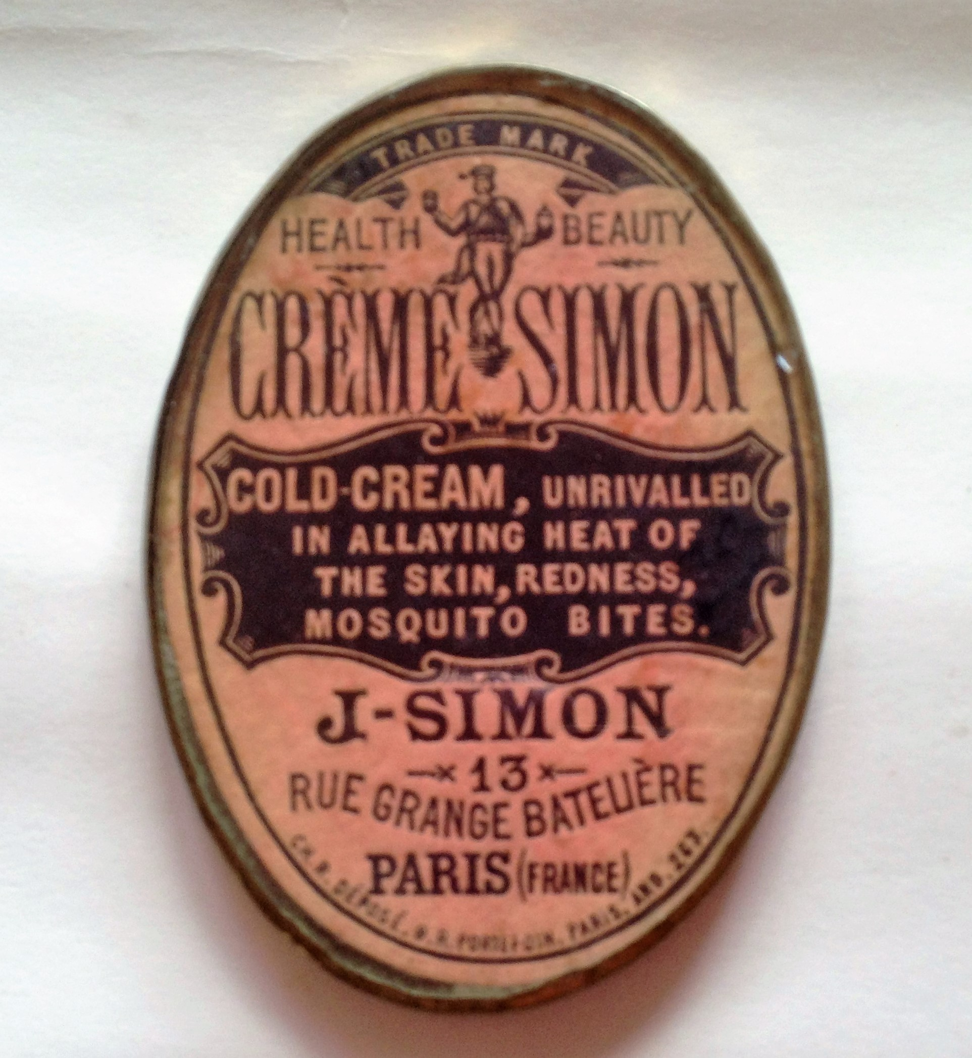 Creme Simon - pocket mirror