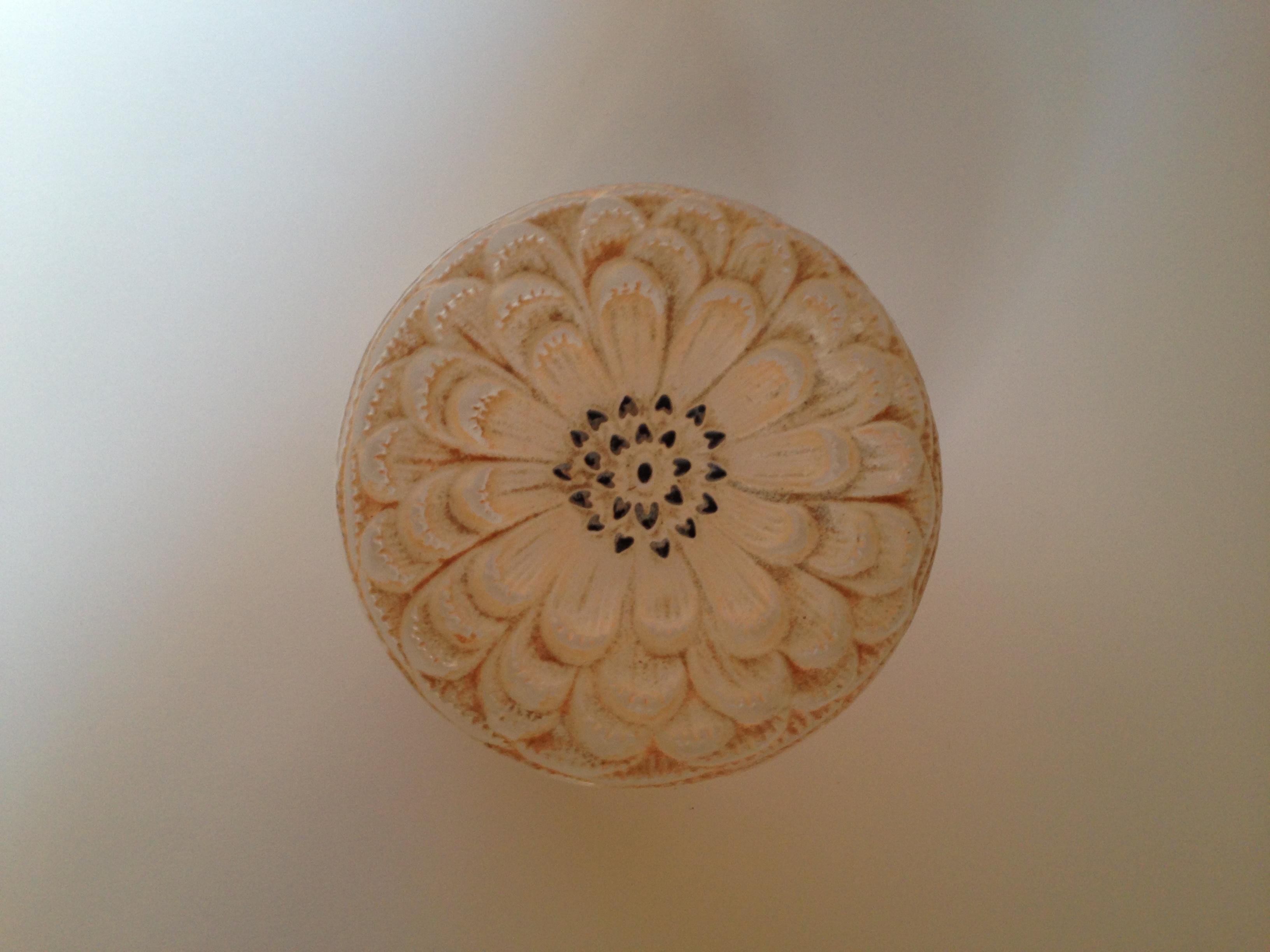 Lalique - Dahlia Powder Bowl